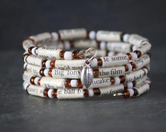 The Blind Side, The Blind Side gift, football gift, football bracelet, The Blind Side jewelry, The Blind Side bracelet