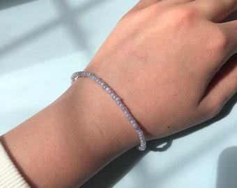Customisable beaded bracelet