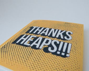 Thanks Heaps Card