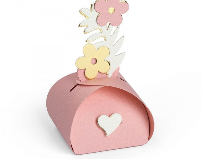 New! Sizzix Bigz L Die - Caja de Regalitos (Favor Box) by Luisa Elena Guillen-K 662953