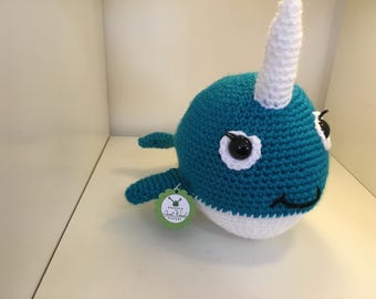 Cecilia the Narwhal - Crochet Pattern Instructions