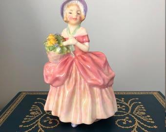 Royal Doulton Cissie Girl Figurine