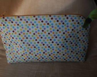 Kit cotton multicolored dots