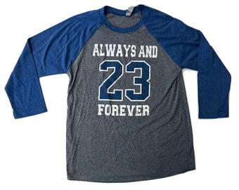 Always And Forever 23  One Tree Hill - 3/4 Sleeve - Royal/gray