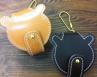Leather Bear Case-With Stitching KC-06