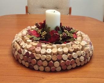 """Wine Cork Centerpiece 16"""""""