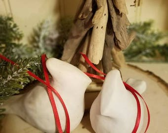 Clay Gift Tags, Christmas Clay Tags