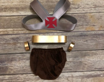 He-Man Inspired Baby Halloween Costume