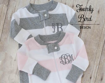 Twin Baby Outfits Boy Girl - Twin Outfits - Twin Coming Home Outfits - Baby Shower Gift Twins - Coming Home Twins - Boy Twins - Girl Twins