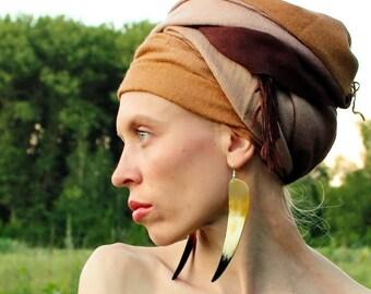Long African Earrings of Buffalo Horn, statement earrings, big tribal earrings, boho earrings, bohemian earrings,gift for her, women gift