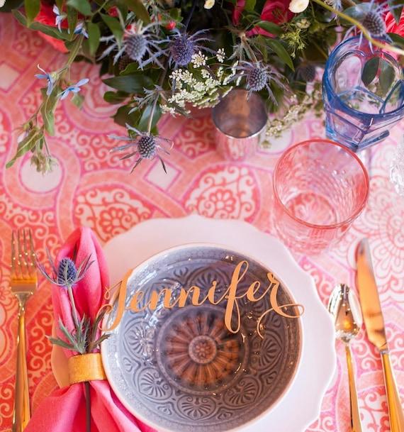 Name Place Card, Laser Cut Names, Guest Names, Guest Seating, Place Card, Guest Setting, Place Card, Wedding Decorations, Escort Card