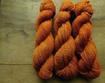 Autumn Orange- 2 ply Coopworth