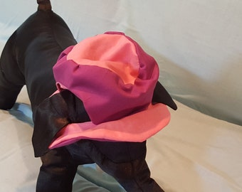 Floppy Brimmed Hat - Adjustable Chin Strap