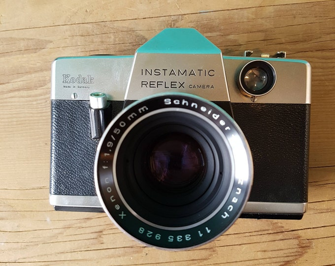 Kodak Instamatic Reflex -Germany -  f1.9 50mm