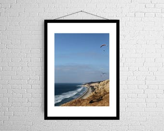 Aerial View   West Coast   Torrey Pines   Photography Print