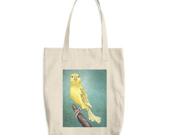 Waterslager Canary Bag - Cotton Tote Bag