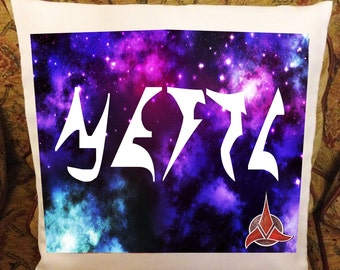 Your name in Klingon Star Trek Pillow/Cushion Cover