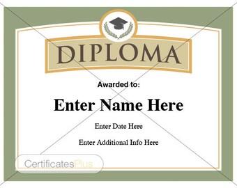 Diploma, diploma certificate, kid certificate, employee recognition, graduation certificates, teacher certificate, Diploma, Graduation