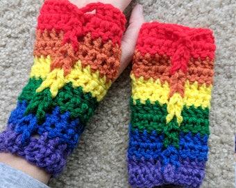 Custom fingerless gloves made to order just for you