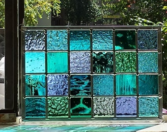 Ocean Stained Glass - Modern