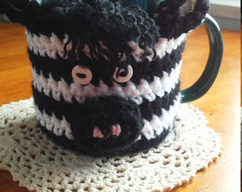 Zebra Cup Cozy, Mug Cozy