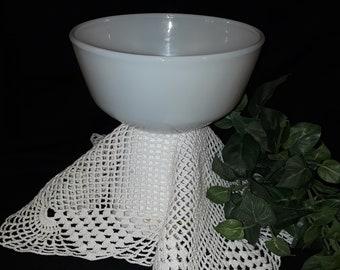 Fire King Milk Glass Mixing bowl - 1960