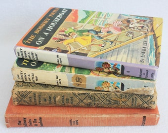 Vintage Book Journal--you choose the book // The Bobbsey Twins // Old Book Journal Recycled Book by PrairiePeasant