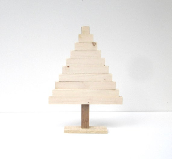Items Similar To Pallet Wood Christmas Tree Diy Tabletop Christmas