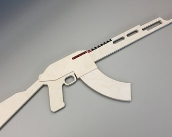 AK-47 Riot Rubber Band Gun
