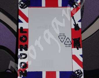 London themed picture frame