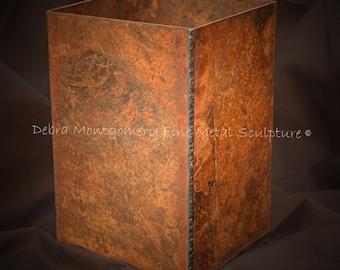 RAW Series - Metal Vase