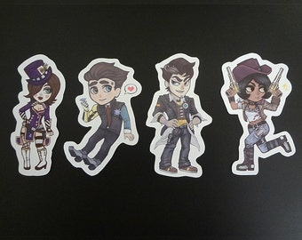 Borderlands stickers