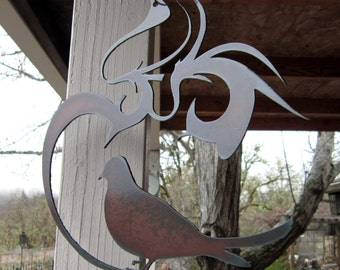Dove-Metal Art-Garden Art-Window Art
