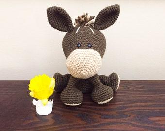 Free Amigurumi Dog Patterns : Cute dog crochet pattern. domino the dog amigurumi crochet