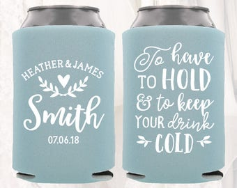 Wedding koozies | Etsy
