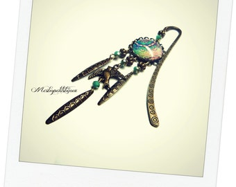 Bookmark blue Bohemian jewelry