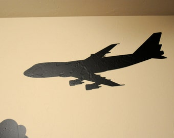 747 Airplane - Wall Decal