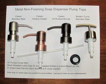 Soap Dispenser Pump, Replacement Soap Pumps, Wine Bottle Soap Pump, Liquor Bottle, Mason Jar Lid, Jack Daniels Bottle, Buy 3 Get 1 Free
