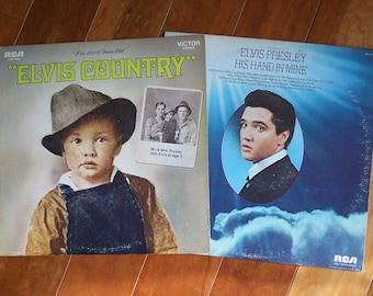 """Elvis Country and Elvis """"His Hand in Mine"""""""