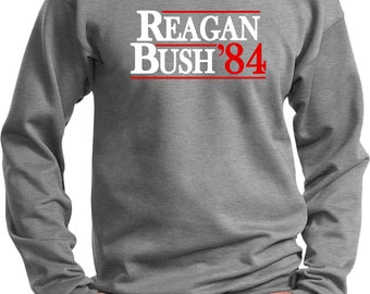 Men's Reagan Bush 1984 Sweat Shirt REAGAN84-PC90