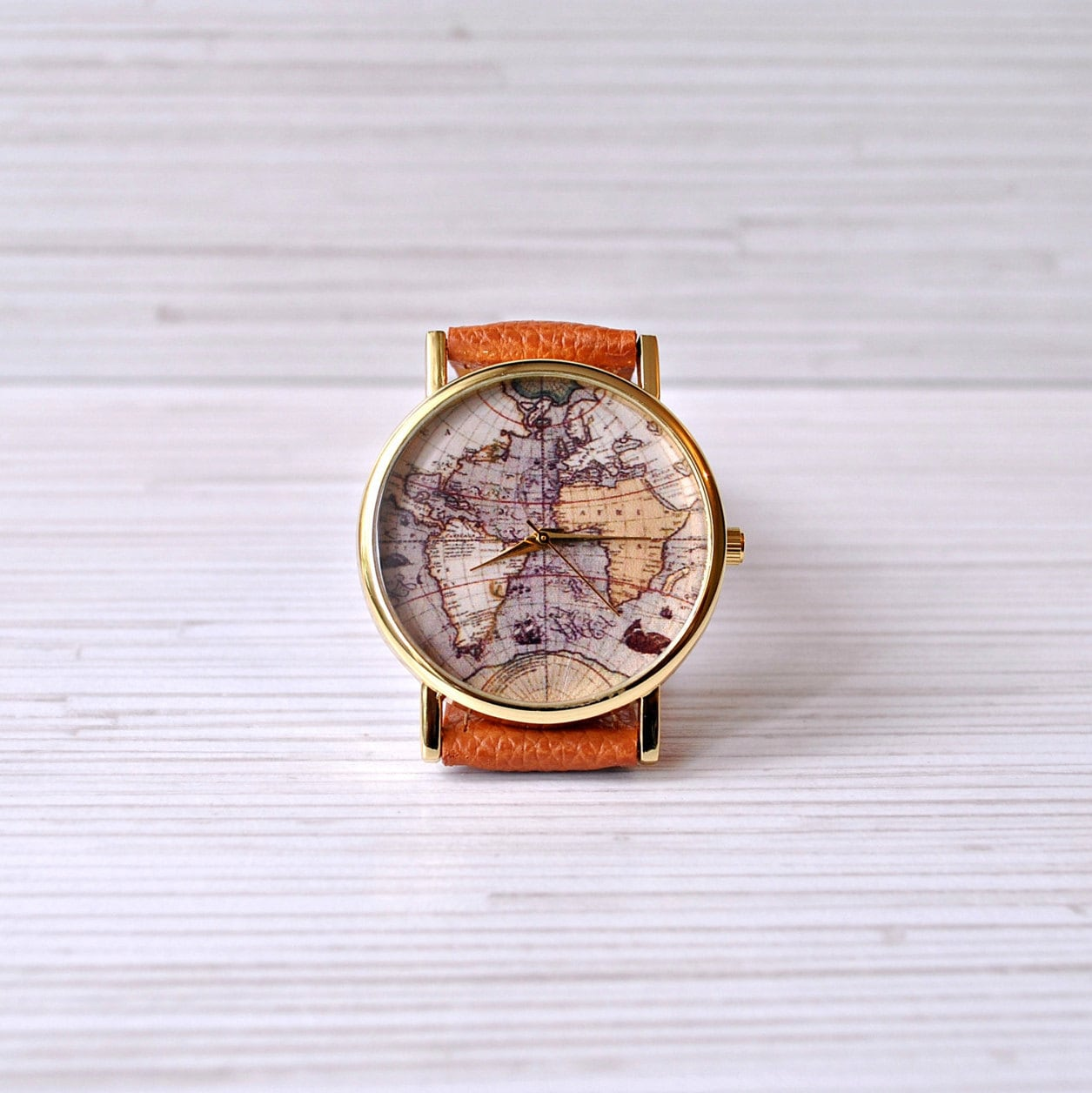 World map watch travel her gift for women wanderlust zoom gumiabroncs Choice Image