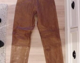 BANANA REPUBLIC leather pants size 38 FR (W29)