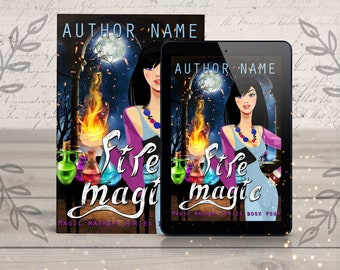 Paranormal Premade eBook Cover- witches story, magic fantasy novel, cover design, cover art, fantasy book cover artist, ebook designer