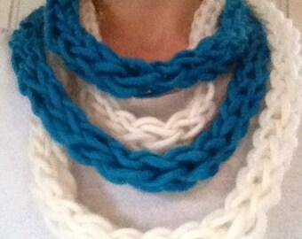 Super Soft Real Norwegian Wool Infinity Scarf