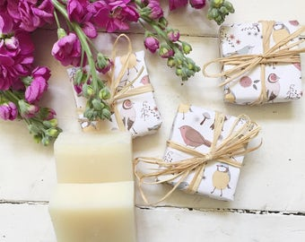 Rose Geranium Handmade Cold Processed Soap