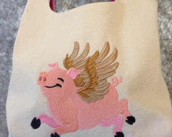 When Pigs Fly - Just About Anything Tote