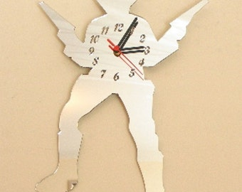 Cowboy Clock Mirror - 2 Sizes Available