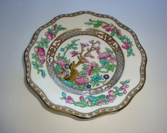 "Vintage Coalport INDIAN TREE Scalloped 6 7/8"" Dessert Plate"