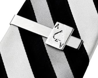 Ace of Spades Tie Clip