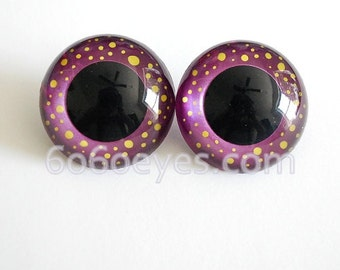 Magic in your eyes hand painted eyes 18 mm safety eyes